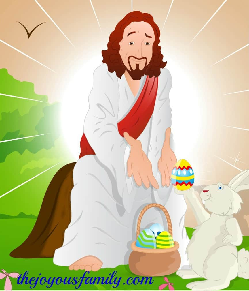 What Does the Easter Bunny Have to Do with jesus?