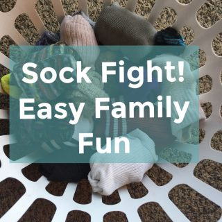 Sock Fight!  3 Active Family Fun Games