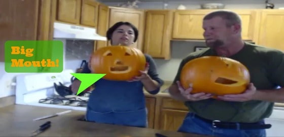 oozing pumpkin