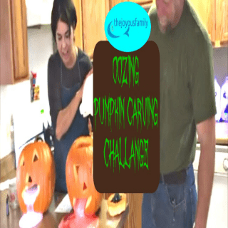 Oozing Pumpkins for Halloween