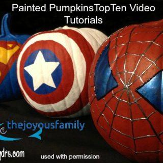 10 Inspiring Pumpkin Painting Top Video Tutorials
