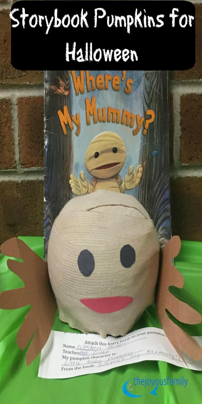 story book pumpkin contest children activities