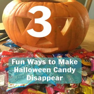 Fun Ways to Get Rid of Halloween Candy (without just eating it all)
