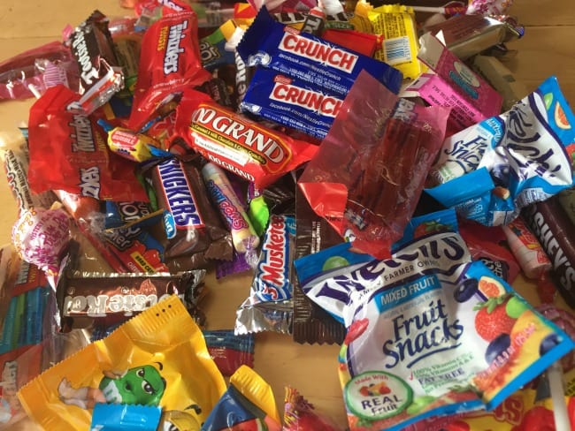 Halloween Candy Too Much Candy Kids Crazy With Candy