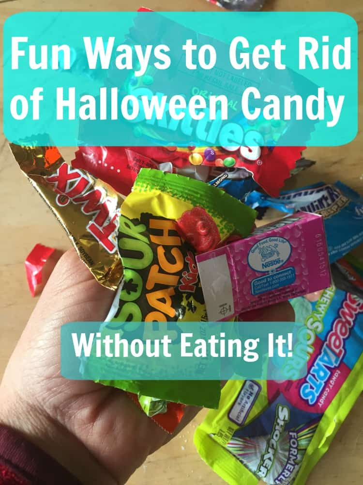 fun way to get rid of Halloween Candy