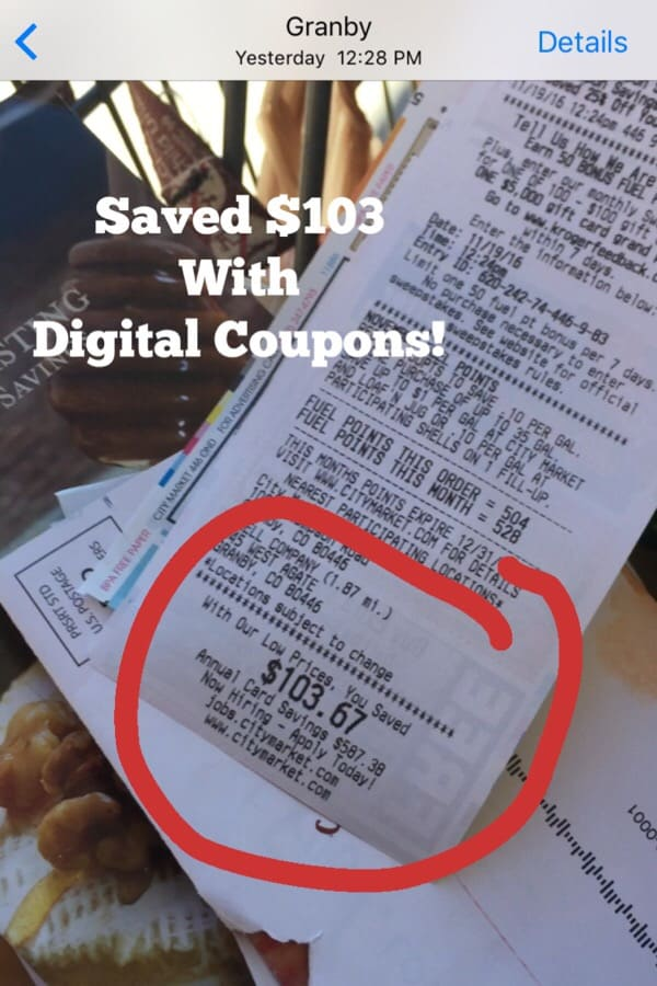 Menu Planning with Grocery Coupons