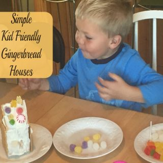 Easy Kid Friendly Gingerbread Houses