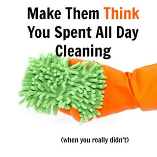 How to Make Holiday Guests THINK you Spent All Day Cleaning