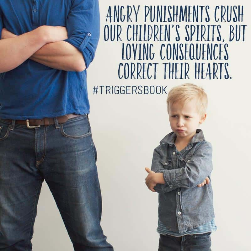 triggers-book-angry reactions punishments teachable moments