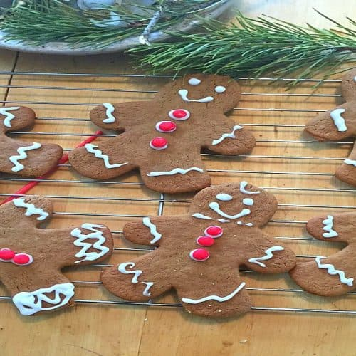 The Best Gingerbread Cookie Recipe Ever!