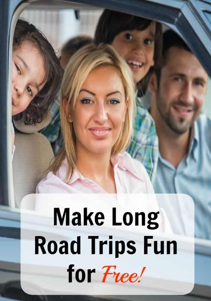 Make Long Road Trips with Kids fun