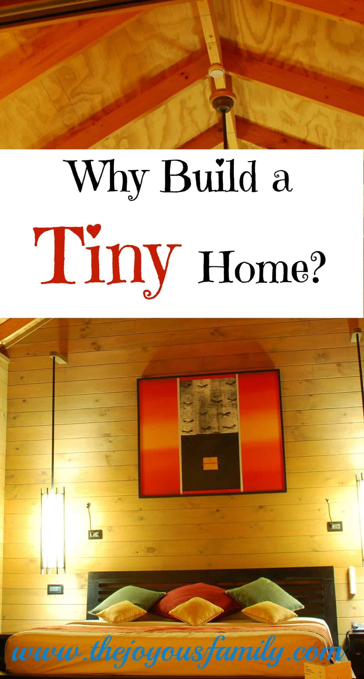 Ditch the debt with a tiny home. Building tiny is a challenge. Is is right for you?