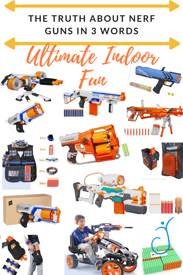 The Truth About NERF Guns in 3 Words - The Joyous Family