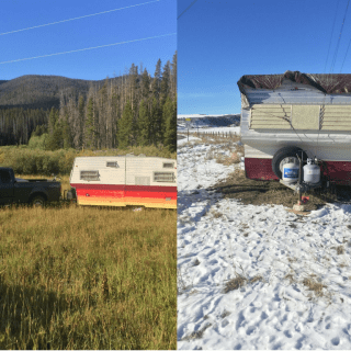 How to Winterize Your Vintage Travel Trailer