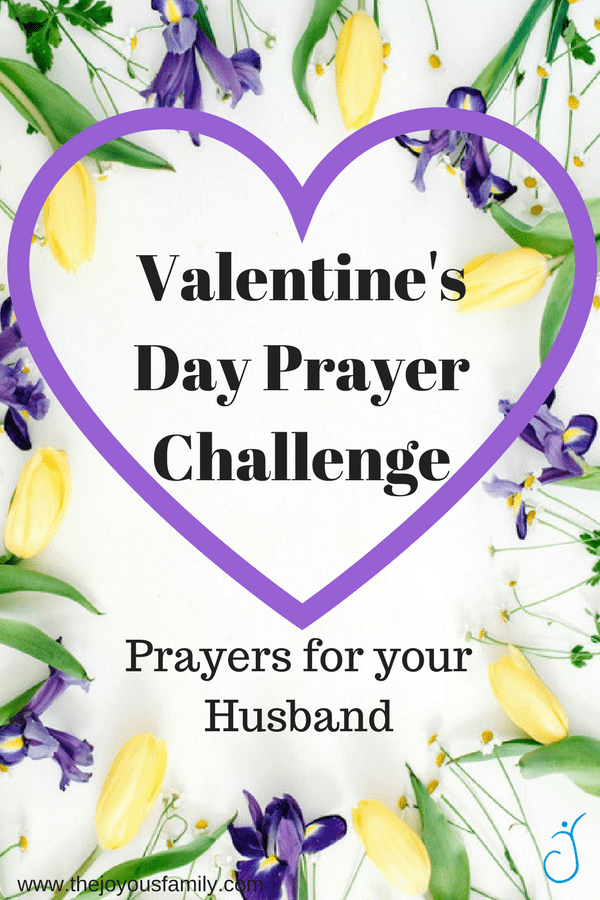 Valentine Yellow Purple Flower Heart Prayers