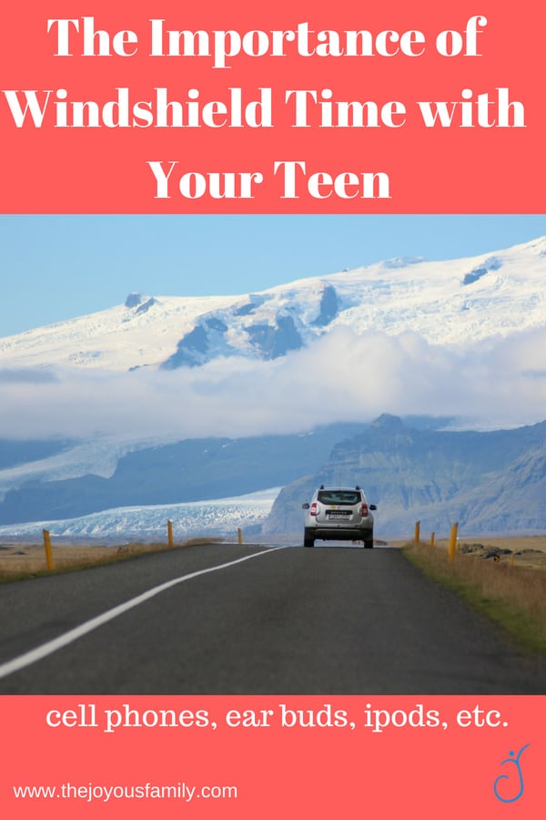 """The whirling blur that pops in after school grabs a snack and runs out again claims to be my son. How do you get a little private time with the busy teen? Even the classic """"windshield time"""" in the car, now fights the onslaught of portable devices."""